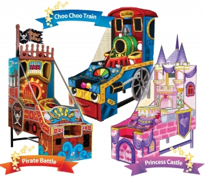 Princess Castle/Choo Choo Train/Pirate Battle