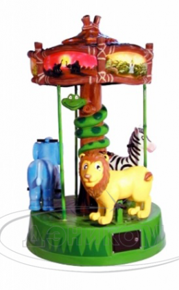 Jungle Carousel от Zamperla