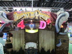 Deadstorm Pirates 4D Motion Theater
