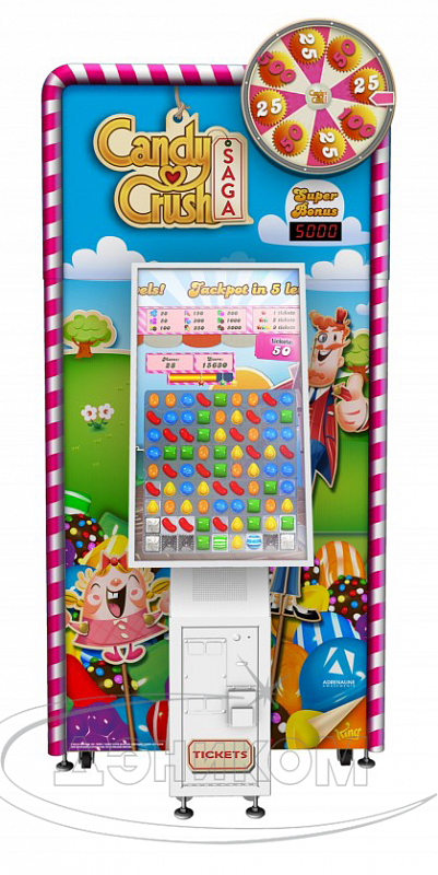CANDY CRUSH SAGA TICKETS