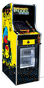 PAC-MAN's PIXEL BASH Chill Cab